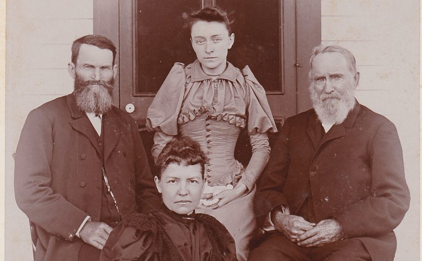 Photo of four Siglin family members