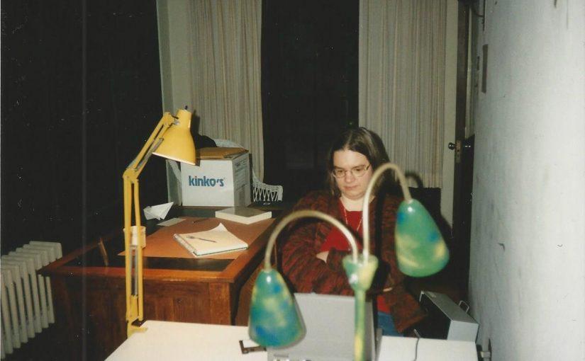 Photo of study at Yaddo