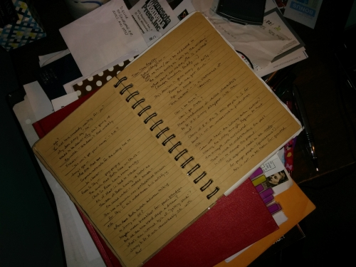 The project diary