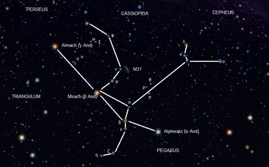 Andromeda annotated by Keilana/Roberto Mura