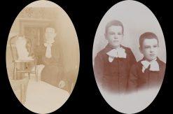 Photos of Catharine Siglin's descendants