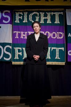 Delta Rae Giordano as Emmeline Pankhurst